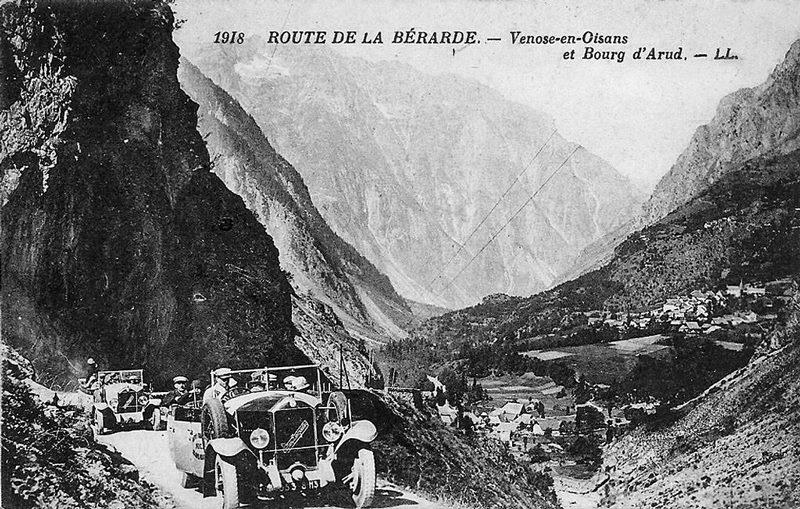 Route de la Bérarde.